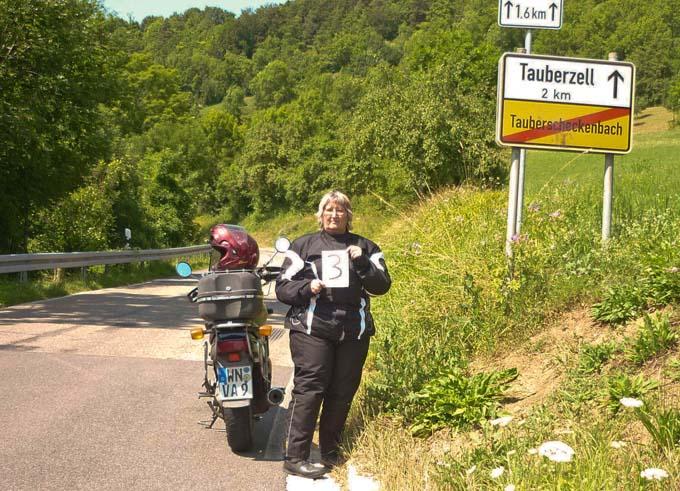 Pfadfindertrophäe 2013, Motorradtouren mit besonderen Aufgaben