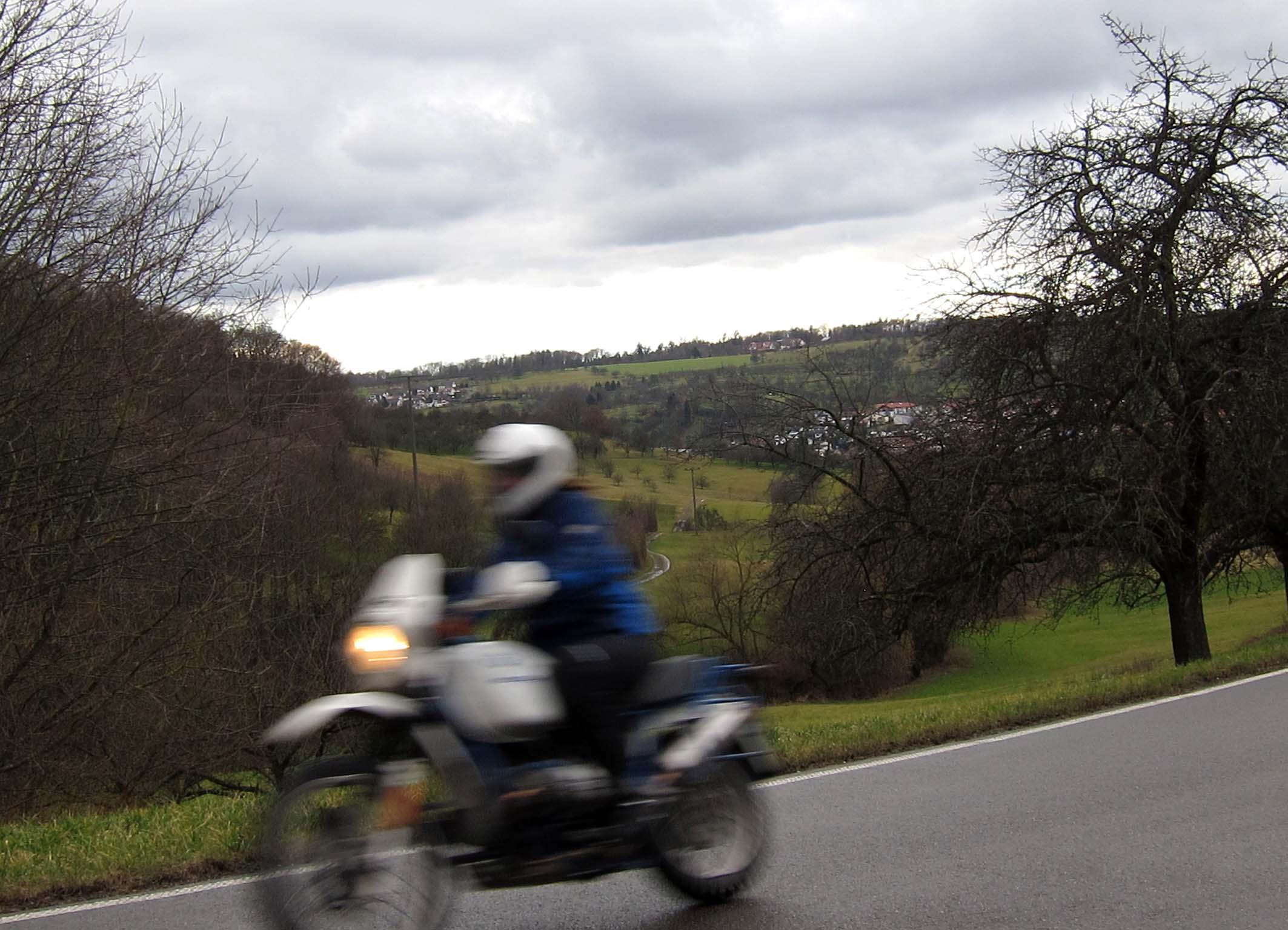 Motoradtour rund ums Remstal - Oppelsbohm, Berglen