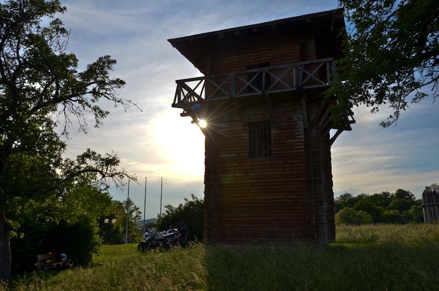 Der römische Limesturm am Kloster Lorch