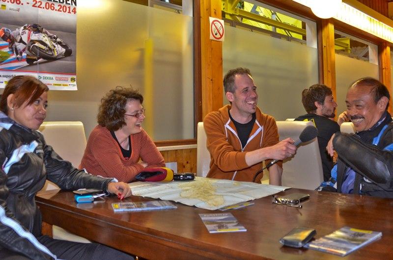 Tomy im Interview mit Sonja und Claudio von pegasoreise.de