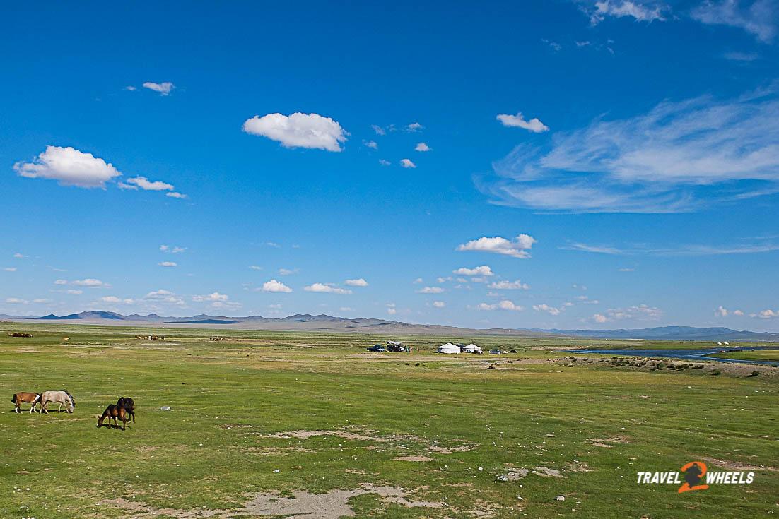 Nepal 2018 - Mongolei Landschaft