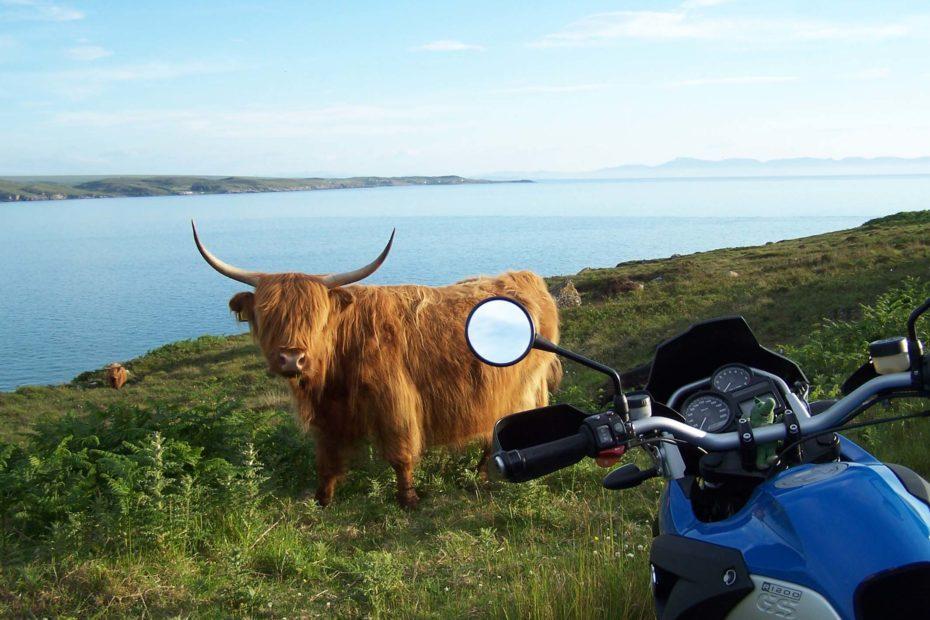 Schottland Motorradreise